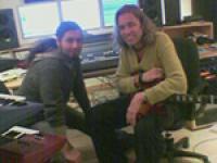 Osssy & Wielo im urzeit productions-Studio